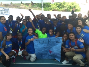 First Star Foster Youth Help Haitian Special Olympics Team